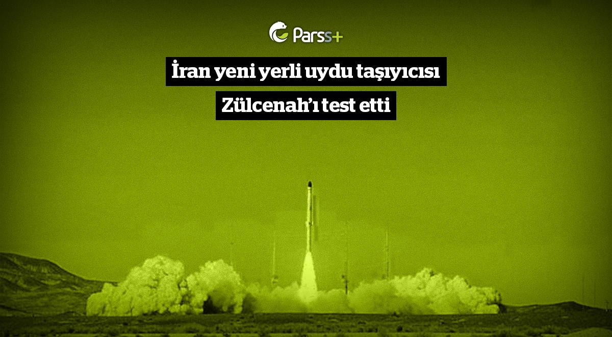 İran yeni yerli uydu taşıyıcısı Zülcenah'ı test etti