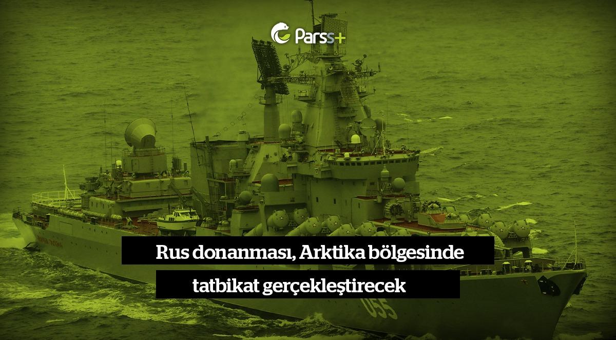 Rus Donanması'nın Marshal Ustinov'u Arktik'te deniz güvenliği tatbikatları gerçekleştirecek
