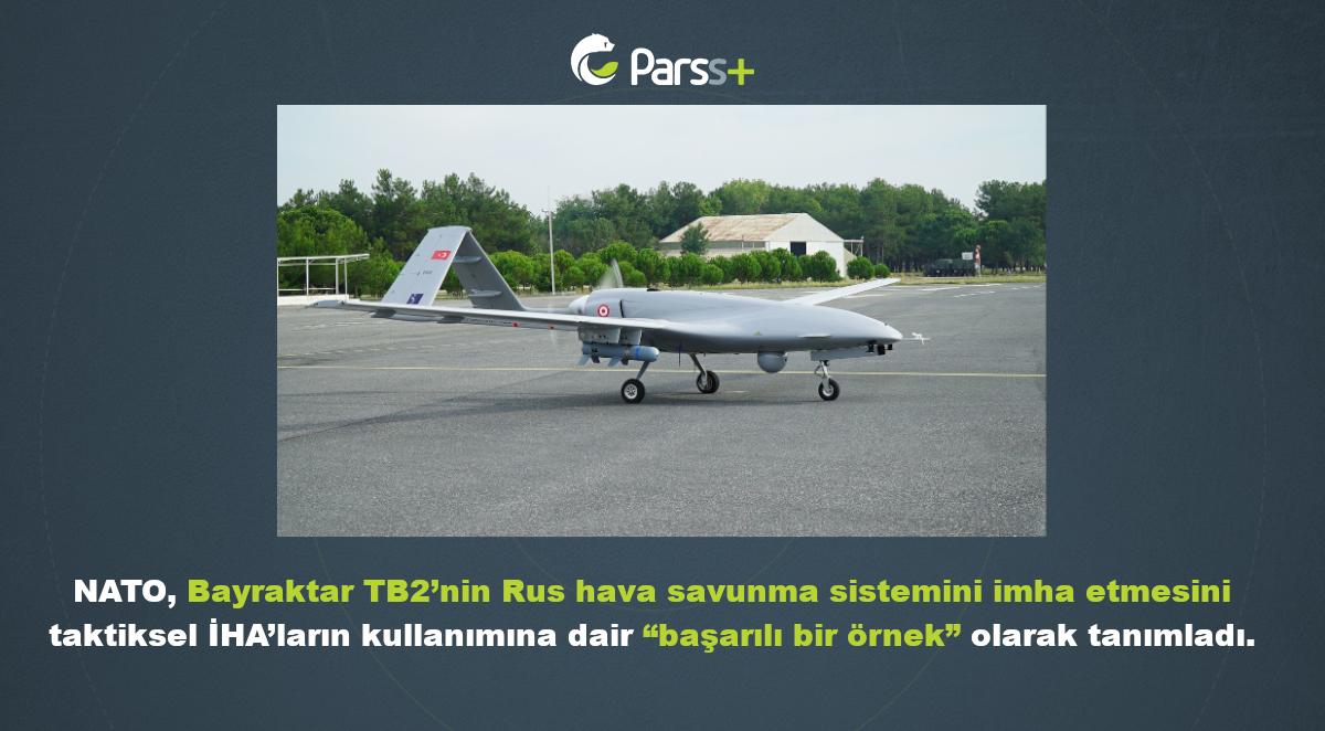 """NATO, Bayraktar TB2'yi taktiksel İHA kullanımında """"başarılı örnek"""" olarak gösterdi"""