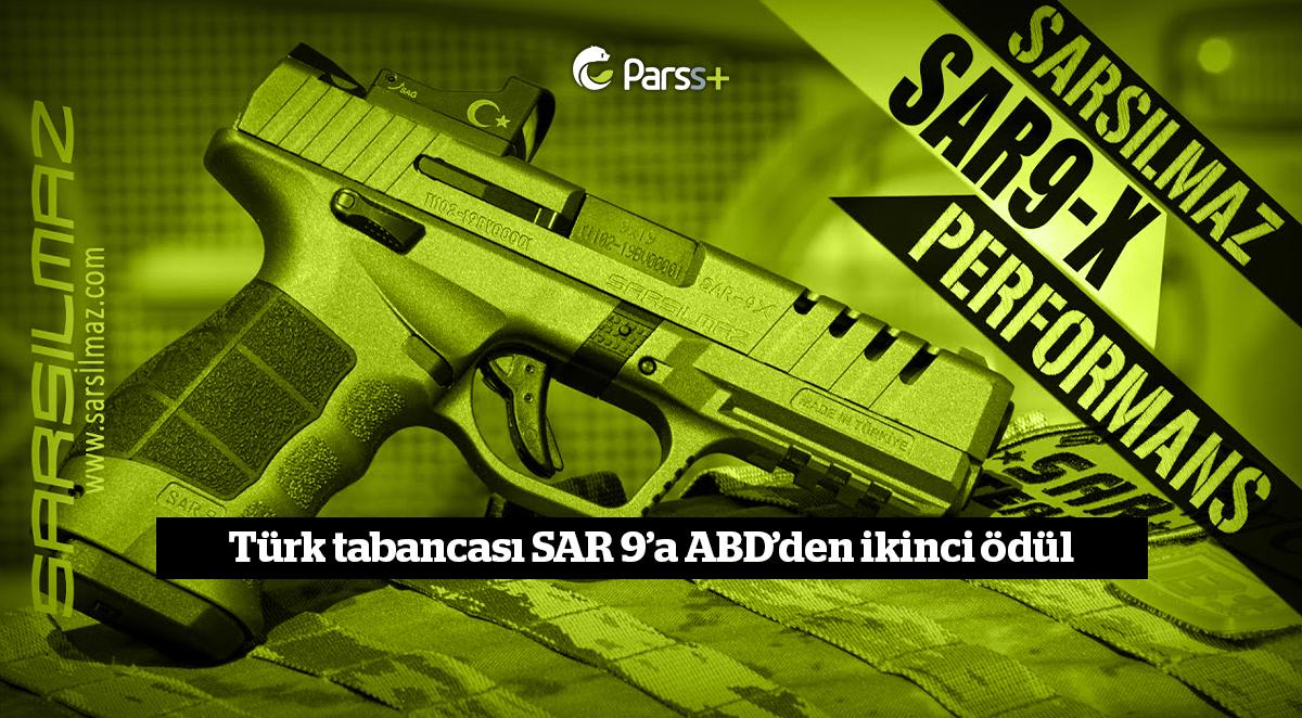 Türk tabancası SAR 9'a ABD'den ikinci ödül