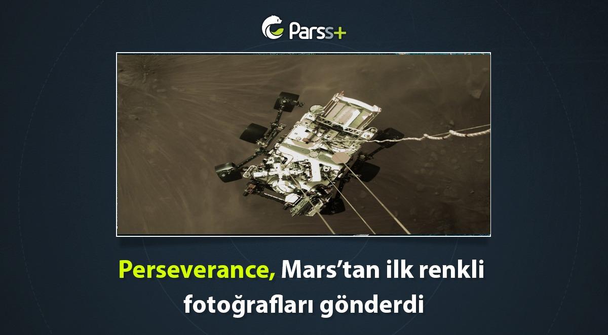 Perseverance Mars'tan ilk renkli fotoğrafları gönderdi