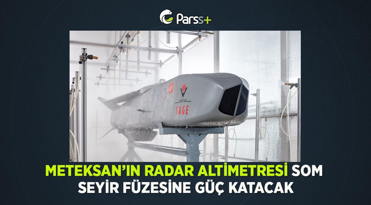 Meteksan'ın Radar Altimetresi SOM seyir füzesine güç katacak