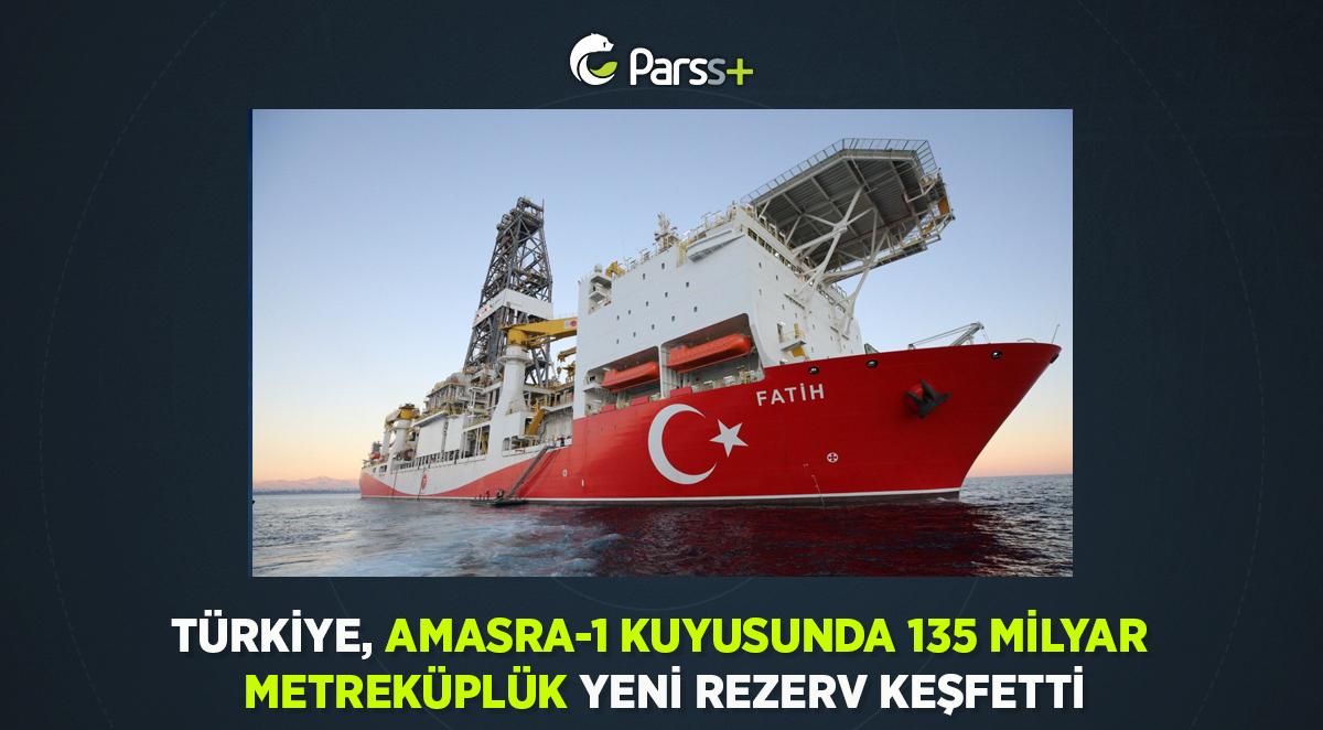 Türkiye, Amasra-1 Kuyusunda 135 Milyar Metreküplük Yeni Rezerv Keşfetti