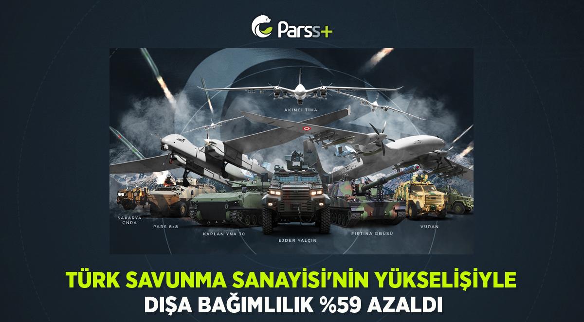 Türk Savunma Sanayisi'nin Yükselişiyle dışa bağımlılık %59 azaldı